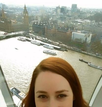 Inside the London Eye!
